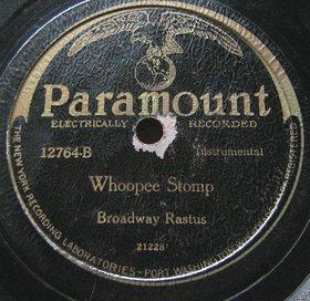 FRANK MELROSE - Rock My Soul / Whoopee Stomp [as Broadway Rastus] cover